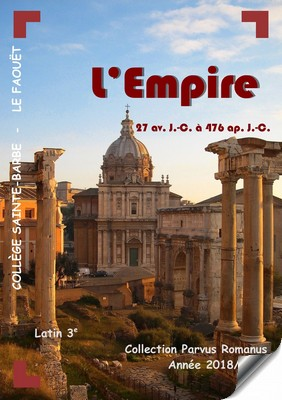 journal latin 3e 2018-19